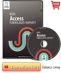 Kurs Access - formularze i raporty