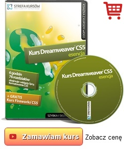 Kurs Adobe Dreamweaver CS5 - esencja