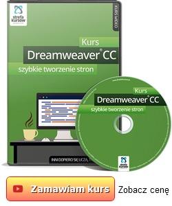 Kurs Dreamweaver CC - szybkie tworzenie stron
