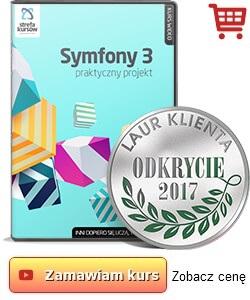 Kurs Symfony 3 - praktyczny projekt od podstaw