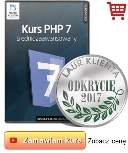 Kurs PHP sredniozaawansowany