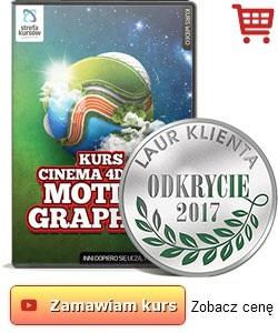 Kurs Cinema 4D & AE - motion graphics