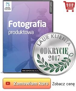 Kurs Fotografia produktowa